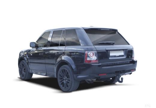LAND ROVER Range Rover kombi czarny tylny lewy