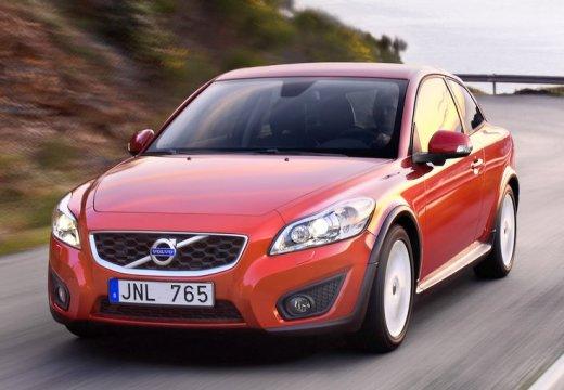 VOLVO C30 II hatchback czerwony jasny przedni lewy