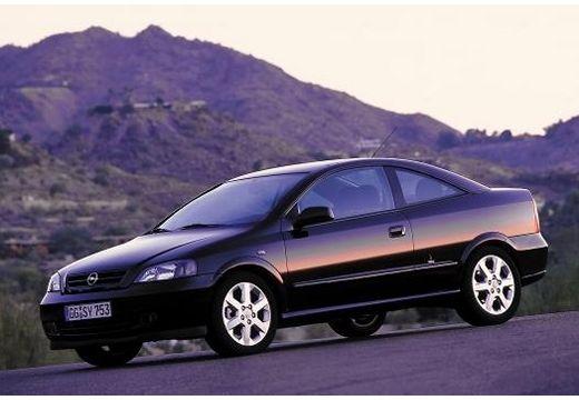 OPEL Astra coupe czarny przedni lewy