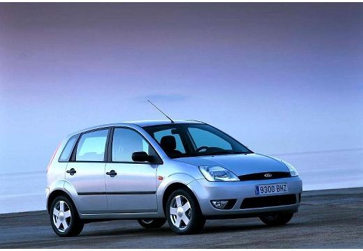 FORD Fiesta hatchback silver grey przedni prawy