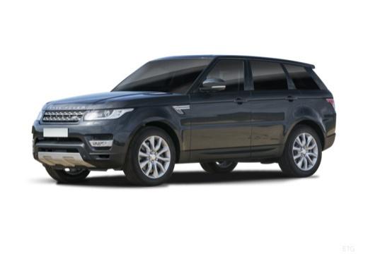 LAND ROVER Range Rover Sport IV kombi czarny przedni lewy