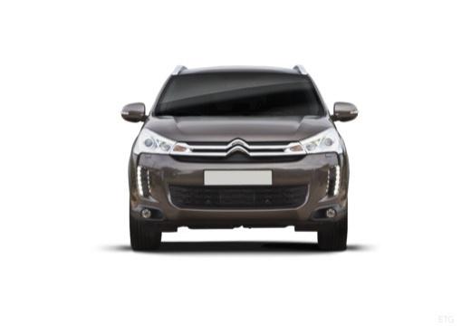 CITROEN C4 Aircross hatchback brązowy przedni