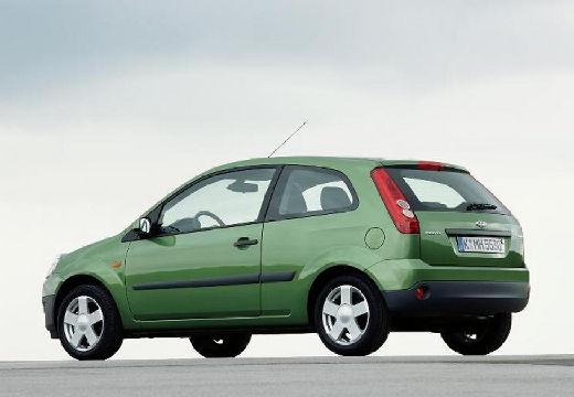 FORD Fiesta VI hatchback zielony jasny tylny lewy