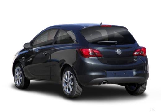 OPEL Corsa hatchback czarny tylny lewy