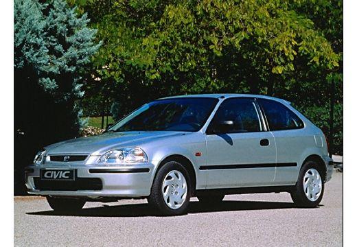 HONDA Civic III hatchback silver grey przedni lewy