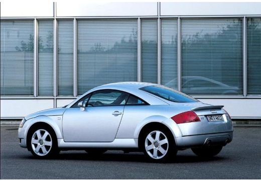 AUDI TT 8N coupe silver grey tylny lewy