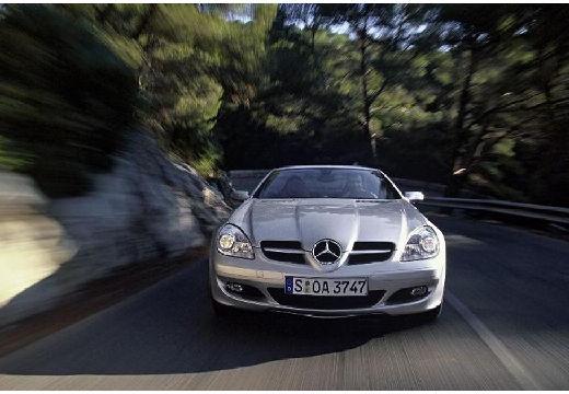 MERCEDES-BENZ Klasa SLK SLK R 171 I roadster silver grey przedni