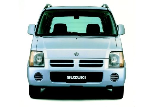 SUZUKI Wagon R+ hatchback silver grey przedni