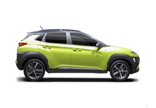 HYUNDAI Kona hatchback boczny prawy