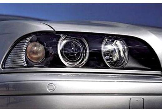 BMW Seria 5 E39 sedan silver grey szczegółowe opcje