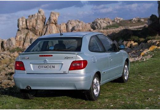 CITROEN Xsara II hatchback silver grey tylny prawy