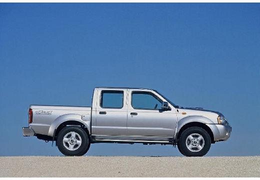 NISSAN Pick Up pickup silver grey boczny prawy