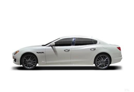 MASERATI Quattroporte V sedan boczny lewy