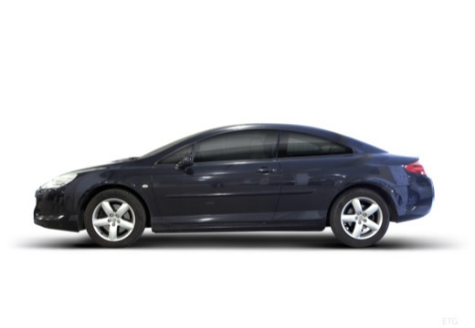 PEUGEOT 407 coupe boczny lewy