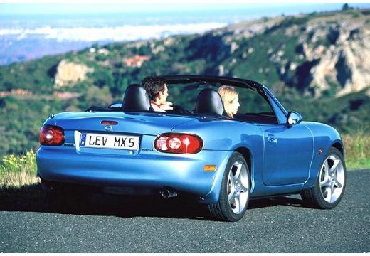 MAZDA MX-5 III roadster niebieski jasny tylny prawy