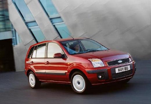FORD Fusion II hatchback czerwony jasny przedni prawy