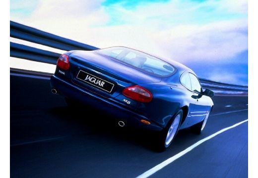 JAGUAR XK8 I coupe niebieski jasny tylny prawy