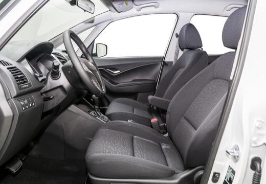 HYUNDAI ix20 II hatchback biały wnętrze