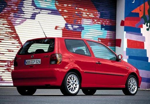 VOLKSWAGEN Polo III I hatchback czerwony jasny tylny prawy