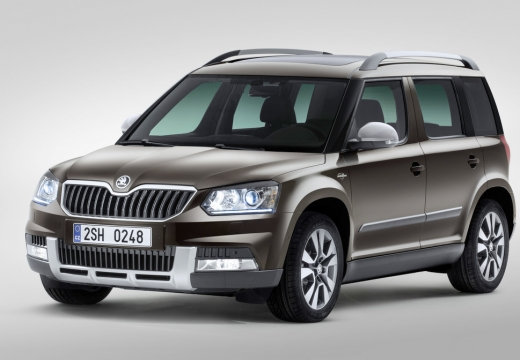SKODA Yeti Out. 2.0 TDI DPF 4x2 Ambition Kombi Outdoor 110KM (diesel)