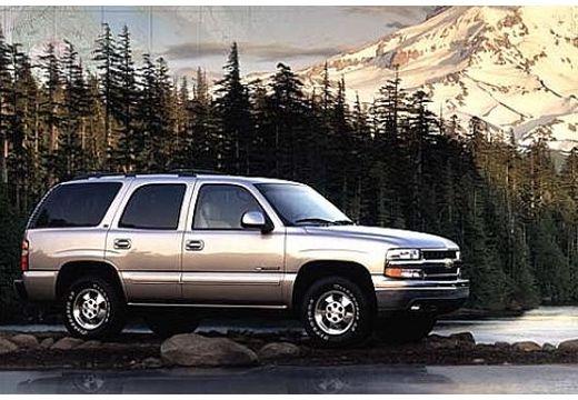 CHEVROLET Tahoe kombi silver grey przedni prawy