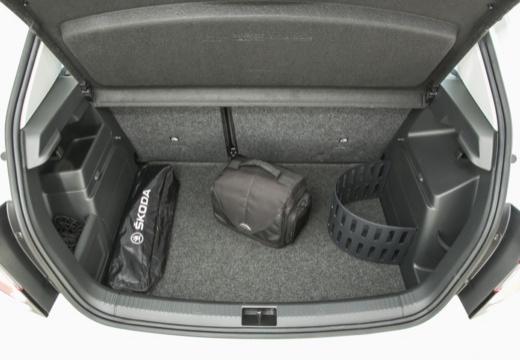 SKODA Fabia III I hatchback przestrzeń załadunkowa