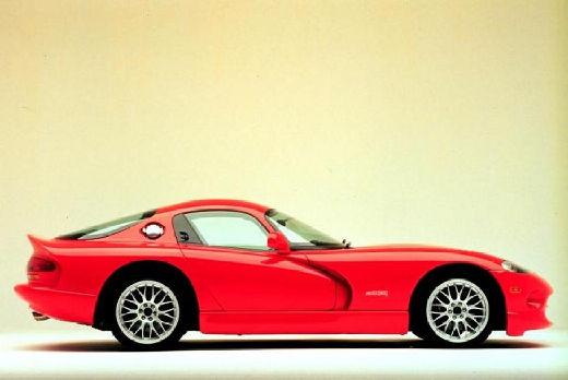 DODGE Viper Roadster I coupe czerwony jasny boczny prawy