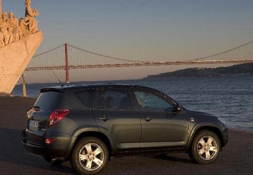 Toyota RAV4 USA kombi czarny tylny prawy
