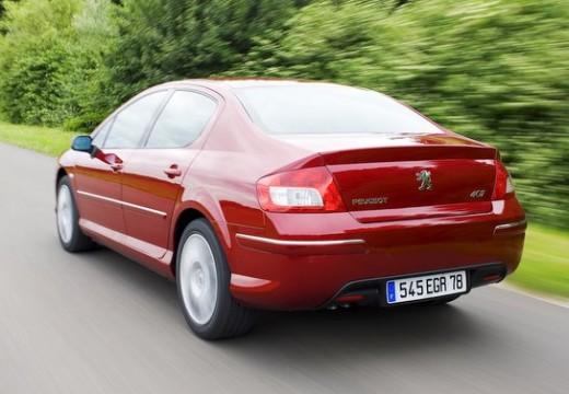 PEUGEOT 407 sedan czerwony jasny tylny lewy