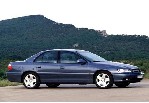 OPEL Omega B II sedan niebieski jasny przedni prawy