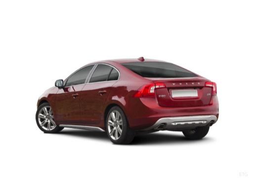 VOLVO S60 IV sedan czerwony jasny tylny lewy