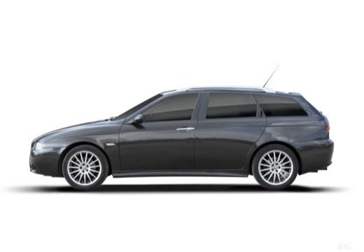 ALFA ROMEO 156 Sportwagon III kombi boczny lewy