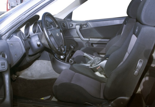 ALFA ROMEO GTV II coupe silver grey wnętrze
