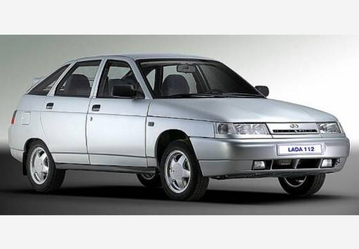 LADA 112 I hatchback silver grey przedni prawy