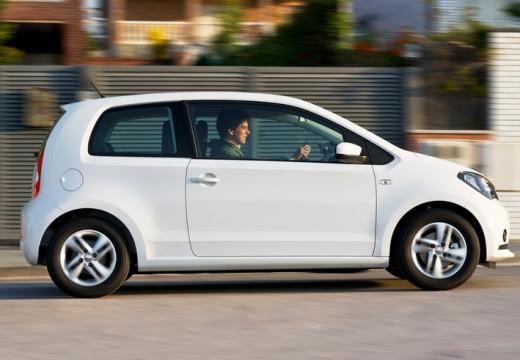 SEAT Mii I hatchback biały boczny prawy