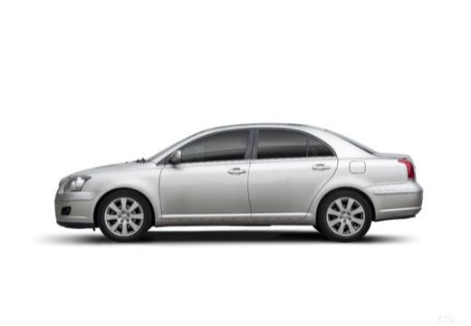 Toyota Avensis IV sedan silver grey boczny lewy