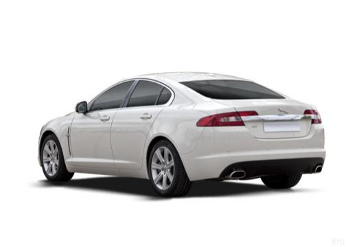 JAGUAR XF I sedan biały tylny lewy