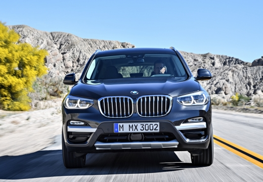 BMW X3 X 3 G01 kombi silver grey przedni