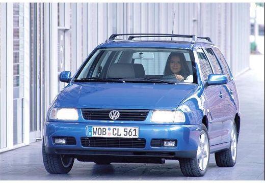 VOLKSWAGEN Polo III Variant II kombi niebieski jasny przedni lewy