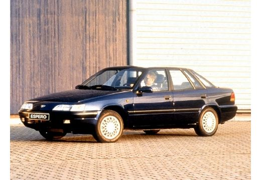 DAEWOO / FSO Espero sedan niebieski jasny przedni lewy