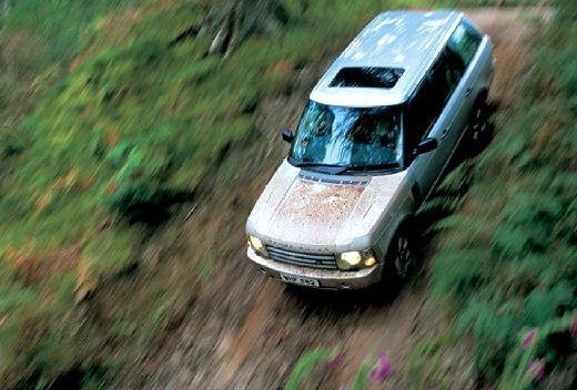 LAND ROVER Range Rover III kombi silver grey przedni lewy