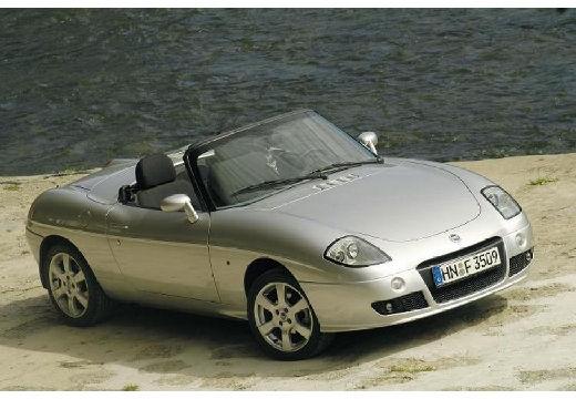 FIAT Barchetta kabriolet silver grey przedni prawy