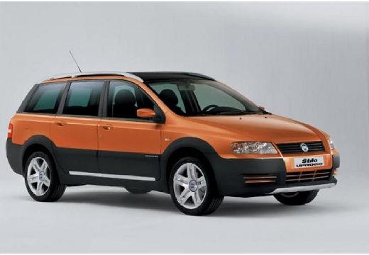 FIAT Stilo Multiwagon II kombi pomarańczowy przedni prawy
