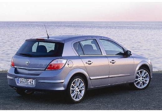OPEL Astra III I hatchback silver grey tylny prawy
