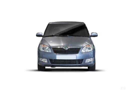 SKODA Fabia II II hatchback przedni