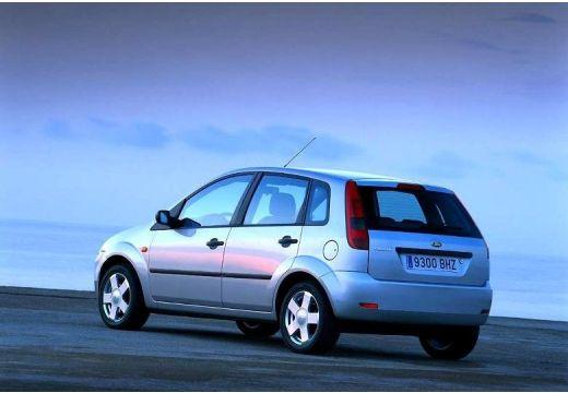 FORD Fiesta V hatchback silver grey tylny lewy