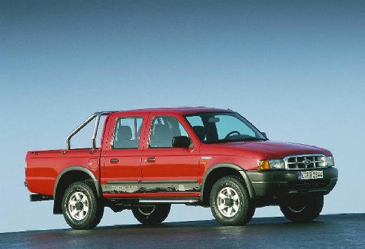FORD Ranger I pickup czerwony jasny przedni prawy