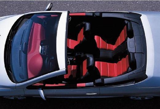 PEUGEOT 307 kabriolet silver grey wnętrze
