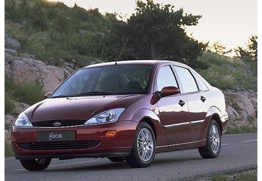 FORD Focus II sedan bordeaux (czerwony ciemny) przedni lewy