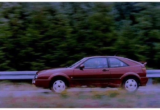 VOLKSWAGEN Corrado I coupe brązowy boczny lewy